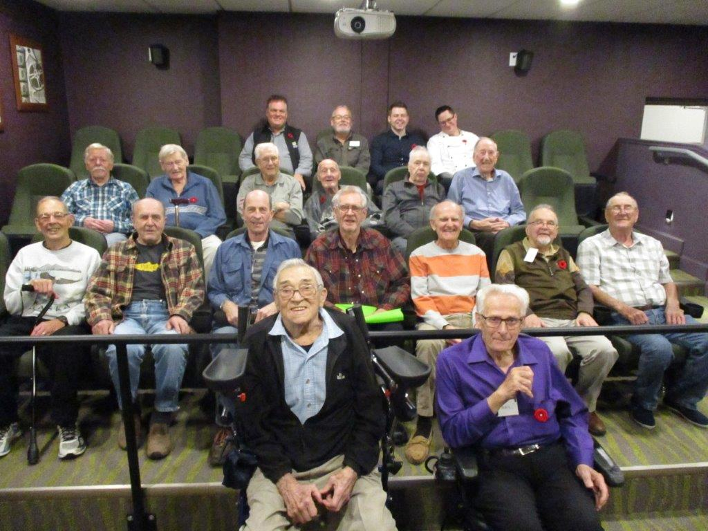 Lakeside Manor 'Mo Bros Raise $3488 for Movember Project!
